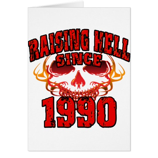 Raising Hell since 1990.png Card