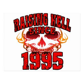Raising Hell since 1995.png Postcard