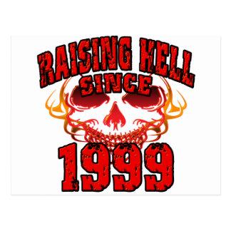 Raising Hell since 1999.png Postcard