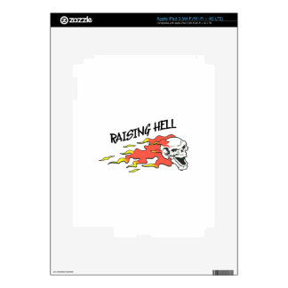RAISING HELL iPad 3 SKIN