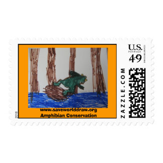 Raising Money for Amphibian Conservation Stamps
