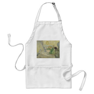 Raising of Lazarus after Rembrandt by Van Gogh Adult Apron