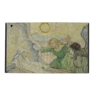 Raising of Lazarus after Rembrandt by Van Gogh iPad Folio Case
