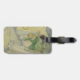 Raising of Lazarus after Rembrandt by Van Gogh Luggage Tags