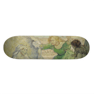 Raising of Lazarus after Rembrandt by Van Gogh Skateboard