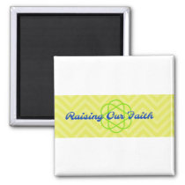 Raising Our Faith logo cup Magnet