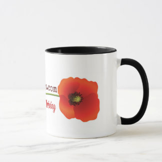 Raising Poppies Mug