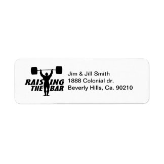 Raising The Bar Label