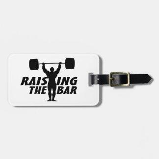 Raising The Bar Luggage Tag