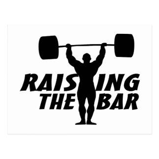 Raising The Bar Postcard