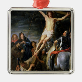 Raising the Cross, 1631-37 Metal Ornament