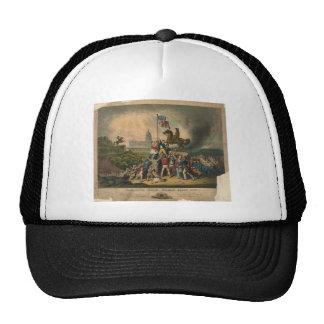 Raising the Flag May 1861 by Louis N. Rosenthal Trucker Hat