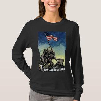Raising The Flag On Iwo Jima T-Shirt