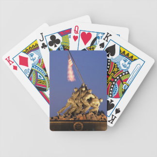 Raising the Flag Playing Cards