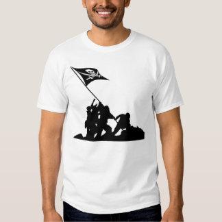 Raising The Flag Tee Shirt