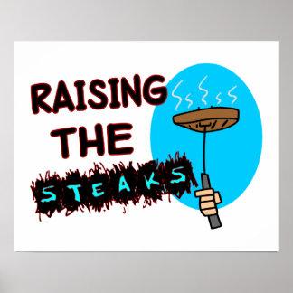 Raising The Steaks Poster