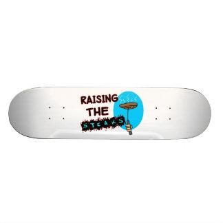 Raising The Steaks Skateboard Deck