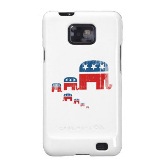 Raising them Republican Faded.png Samsung Galaxy SII Cover