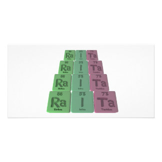 Raita-Ra-I-Ta-Radium-Iodine-Tantalum.png Personalised Photo Card