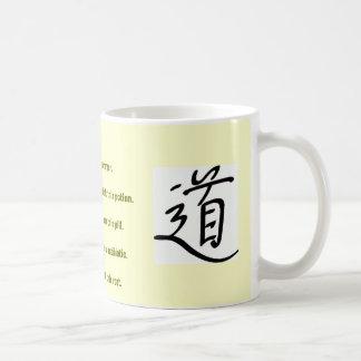 Raíz-a-Raíz Drinkware con el símbolo de Tao Tazas De Café