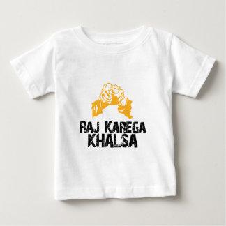 Raj Karega Khalsa Baby T-Shirt
