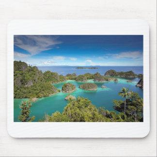 Raja Ampat paradise tropical islands Mouse Pad