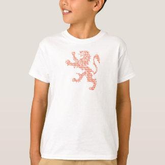 Raja Bell Logo Orange Lion T-Shirt