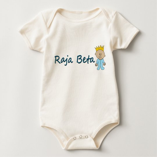 Raja Beta Baby Bodysuit