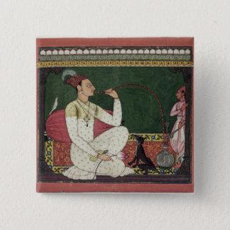 Raja Medini Pal, inscribed on the reverse in Takar Pinback Button