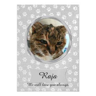 Raja Memorial Magnetic Card