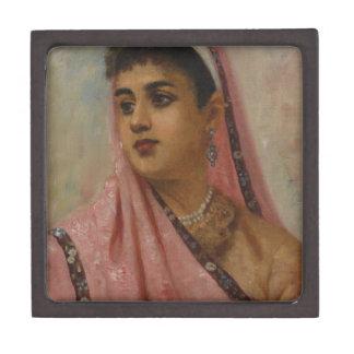 Raja_Ravi_Varma, _The_Parsee_Lady Caja De Regalo De Calidad