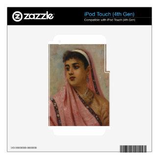 Raja_Ravi_Varma, _The_Parsee_Lady Calcomanías Para iPod Touch 4G