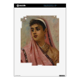 Raja_Ravi_Varma, _The_Parsee_Lady iPad 2 Calcomanía
