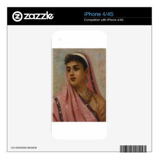 Raja_Ravi_Varma, _The_Parsee_Lady Skin Para El iPhone 4