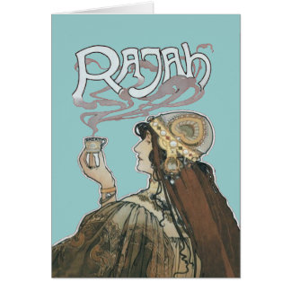 Rajah Coffee Fumes Card