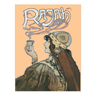 Rajah Coffee Fumes Postcard
