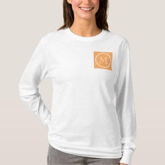 Rajah High End Colored Monogram Initial T-Shirt