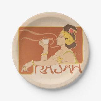 Rajah paper plate