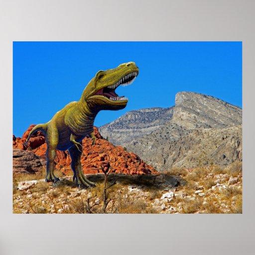 ~ Rajasarus del poster en el desierto