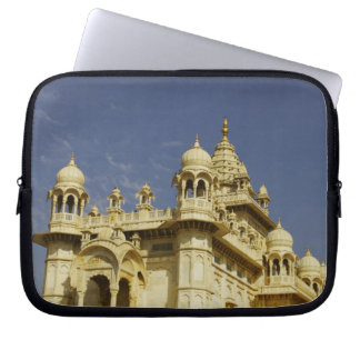 Rajasthan, India A woman standing at and accient Laptop Sleeve