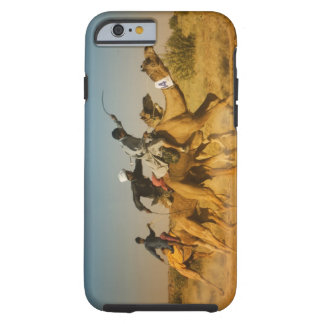 Rajasthan, India camel races in the Thar Desert Tough iPhone 6 Case