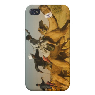 Rajasthan, India camel races in the Thar Desert Cover For iPhone 4