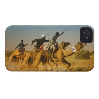 Rajasthan, India camel races in the Thar Desert iPhone 4 Cover