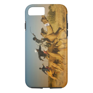 Rajasthan, India camel races in the Thar Desert iPhone 8/7 Case