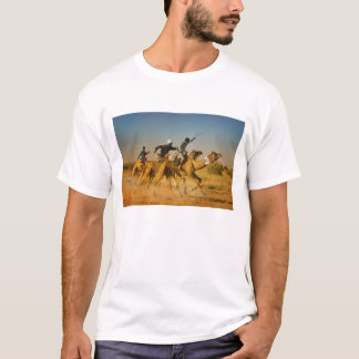 Rajasthan, India camel races in the Thar Desert T-Shirt