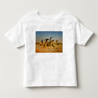 Rajasthan, India camel races in the Thar Desert Toddler T-shirt