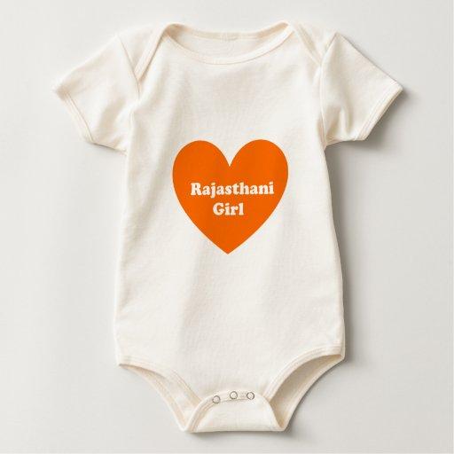 Rajasthani Girl Baby Bodysuit