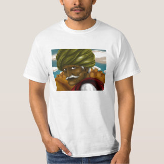 Rajasthani man looks into your soul! T-Shirt