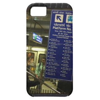 Rajiv Chowk New Delhi Metro Indian Railways Pride iPhone SE/5/5s Case