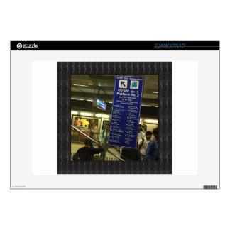 Rajiv Chowk New Delhi Metro Indian Railways Pride Laptop Skin